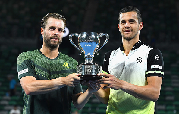 Oliver Marach and Mate Pavic win their biggest title to date at the Australian Open (Photo: Quinn Rooney/Getty Images)