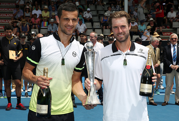 Oliver Marach and Mate Pavic make it a double in Auckland (Photo: Michael Bradley/Getty Images)