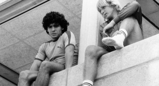 Los dos extranjeros (foto:renaldinhos)