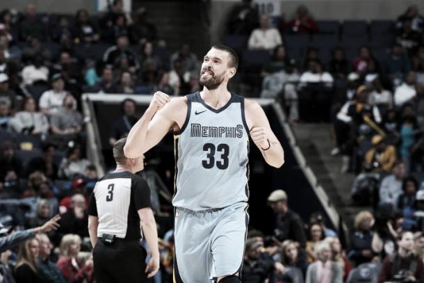 Marc, uno de los mejores de los Grizzlies, ha realizado una gran temporada individual | Foto: nba.com
