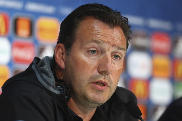Marc Wilmots. Fonte foto: Getty Images Europe.