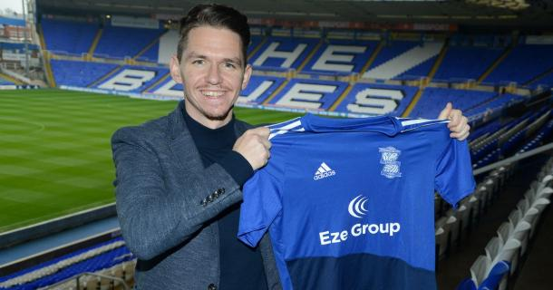 Marc Skinner took charge of Birmingham in 2016 | Source: bcfc.com