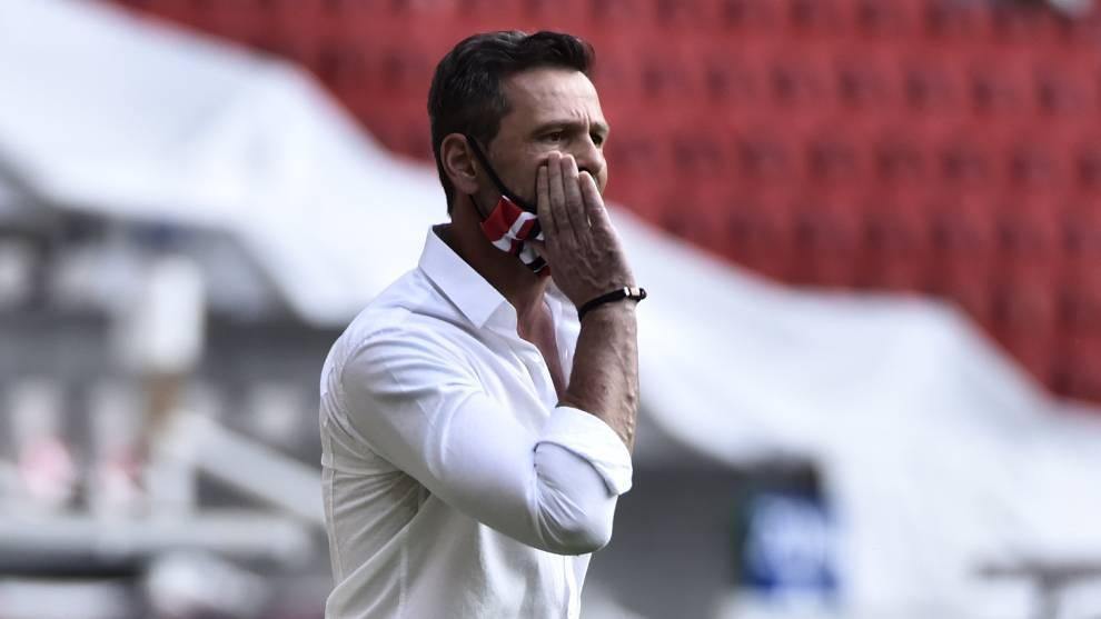 La marca actual de Diego Cocca con los Zorros es de tres triunfos, dos empates y seis derrotas / Foto: Marca