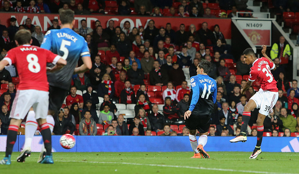 Rashford nets United's second against Bournemouth | Photo: Tom Purslow/Manchester United