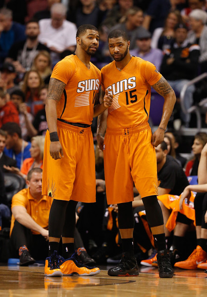 Morris became fed up with Phoenix when brother Marcus was traded to Detroit in July (Christian Petersen/Getty Images).