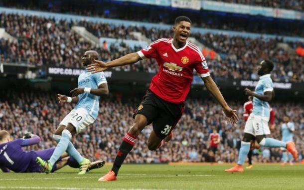 Rashford's strike separated the two sides (Getty Images)