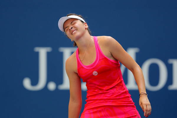 Margarita Gasparyan would rue her missed opportunities in the match | Photo: Elsa/Getty Images North America
