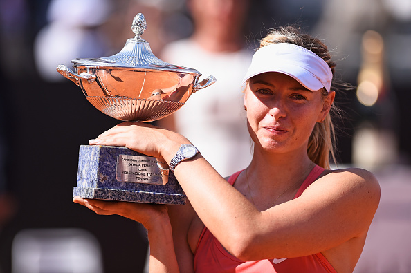 Sharapova is unable to defend her title (Getty/Mike Hewitt)