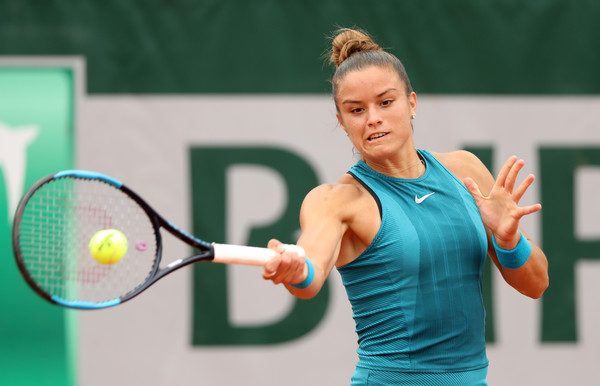 Maria Sakkari made an excellent fightback to level the match at one set all | Photo: Matthew Stockman/Getty Images Europe