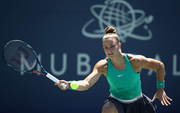 Maria Sakkari will be looking to make her first career WTA final here in San Jose   Photo: Ezra Shaw/Getty Images North America