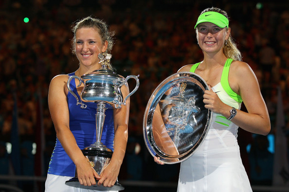 Sharapova was once again outclassed in the final by Victoria Azarenka | Photo: Cameron Spencer/Getty Images AsiaPac