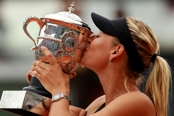 Sharapova completed the Career Grand Slam at Paris in 2012 | Photo: Clive Brunskill/Getty Images Europe