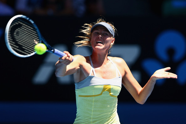 Sharapova was outclassed by Li in the semifinals | Photo: Mark Kolbe/Getty Images AsiaPac