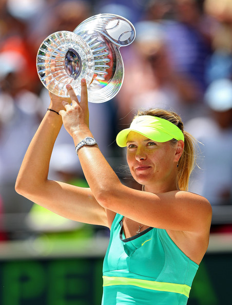 "Sharapova almost managed to earn the ""Sunshine Double"" 