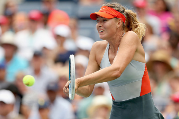 Maria Sharapova in action at the 2014 US Open | Photo: Matthew Stockman/Getty Images North America