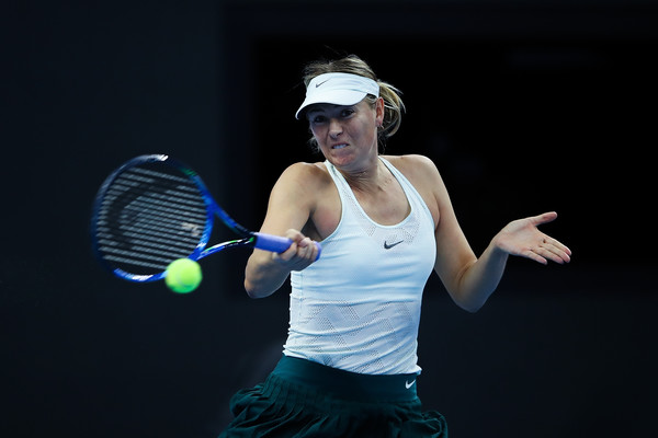 Maria Sharapova was well-received by the crowd today | Photo: Lintao Zhang/Getty Images AsiaPac