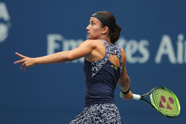 Anastasija Sevastova in action | Photo: Elsa/Getty Images North America