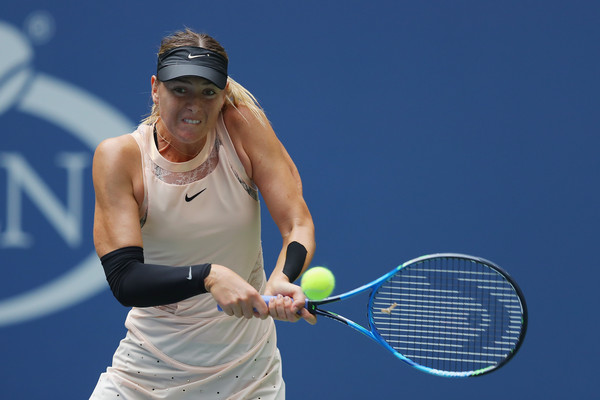 Maria Sharapova in action at the US Open | Photo: Richard Heathcote/Getty Images North America