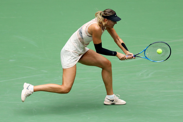 Maria Sharapova was very erratic throughout the match | Photo: Getty Images North America