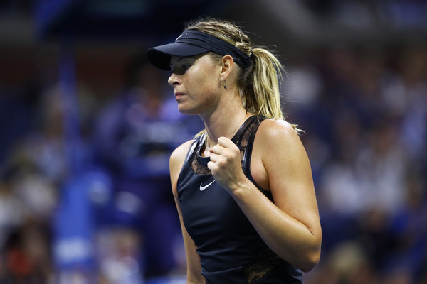 Maria Sharapova's fighting spirit was still evident throughout the match | Photo: Clive Brunskill/Getty Images North America