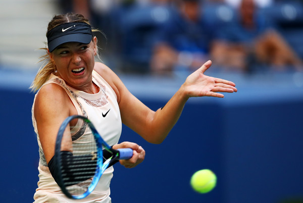 Maria Sharapova in action at the US Open | Photo: Clive Brunskill/Getty Images North America