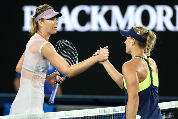 Sharapova struggled against Kerber in her first big match of the year | Photo: Clive Brunskill/Getty Images AsiaPac