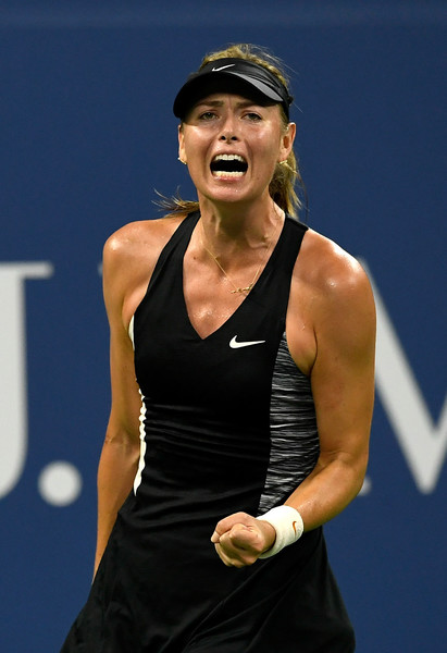 The fight isn't diminished in Maria Sharapova | Photo: Sarah Stier/Getty Images North America