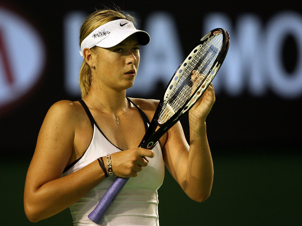 Maria Sharapova at the 2007 Australian Open | Photo: Clive Brunskill/Getty Images Sport
