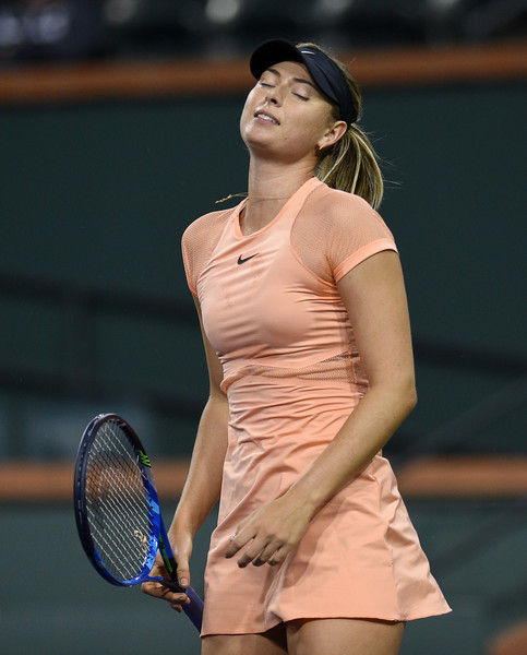 Maria Sharapova's struggles in 2018 continues as injuries are coming back to bother her once more | Photo: Kevork Djansezian/Getty Images North America