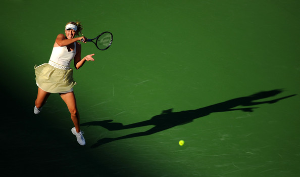 Maria Sharapova received great attention when she came back at the BNP Paribas Open | Photo: Robert Laberge/Getty Images North America