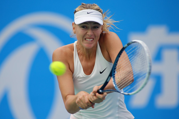 Maria Sharapova suffered a shock exit in Wuhan | Photo: Hong Wu/Getty Images AsiaPac