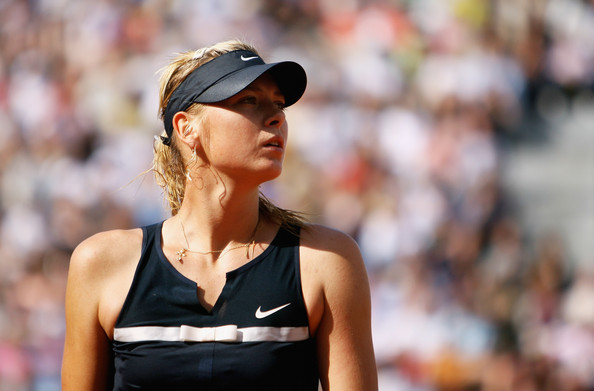 Maria Sharapova looks on at the 2008 French Open | Photo: Julian Finney/Getty Images Europe
