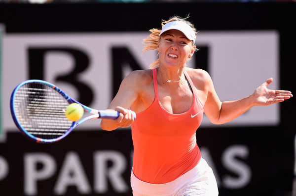 Maria Sharapova's last clay title came at the 2015 Italian Open | Photo: Mike Hewitt/Getty Images Europe