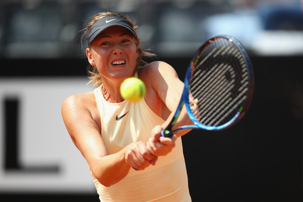 Maria Sharapova impressively fought back in the first set, grabbing four games on the trot | Photo: Julian Finney/Getty Images Europe