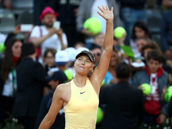 Maria Sharapova has stormed through the draw as an underdog this week | Photo: Julian Finney/Getty Images Europe