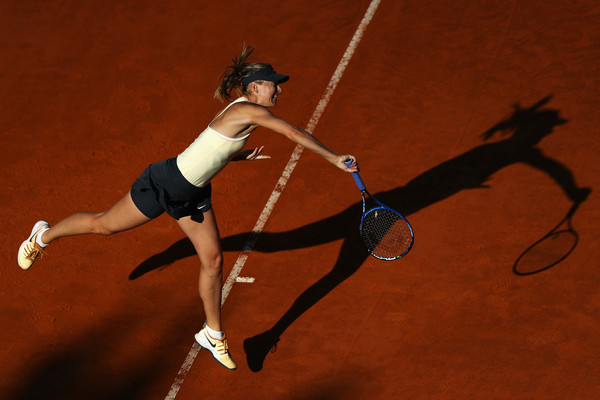 Maria Sharapova's serve was malfunctioning today, having only held serve on three occasions today | Photo: Dean Mouhtaropoulos/Getty Images Europe
