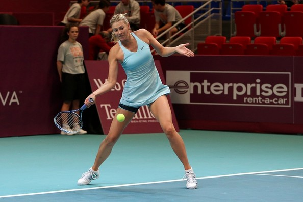 Sharapova suffered an earlier exit in Paris than expected | Photo: Bauergriffin.Com