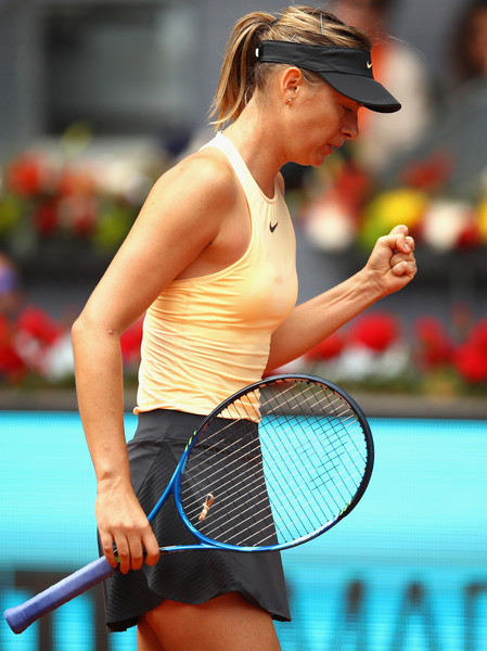 Maria Sharapova fought back from a deficit early in both sets | Photo: Clive Brunskill/Getty Images Europe