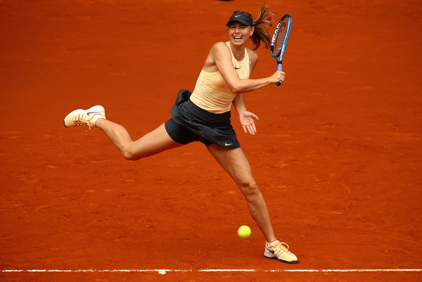 Maria Sharapova came from 1-3 down in the first set and ultimately took it 7-5 | Photo: Clive Brunskill/Getty Images Europe