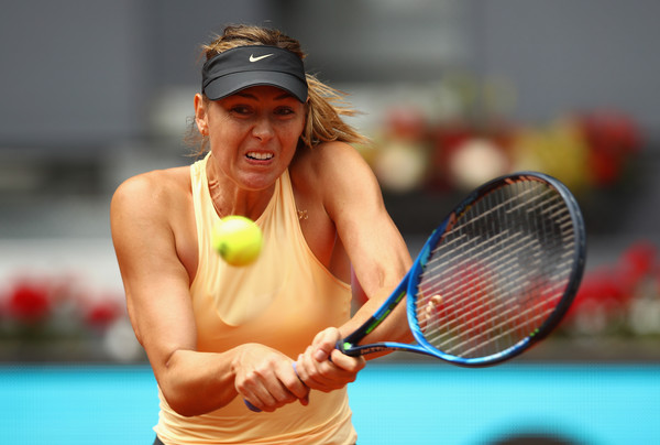Maria Sharapova was on a roll of 19 straight points before converting on her third match point | Photo: Clive Brunskill/Getty Images Europe