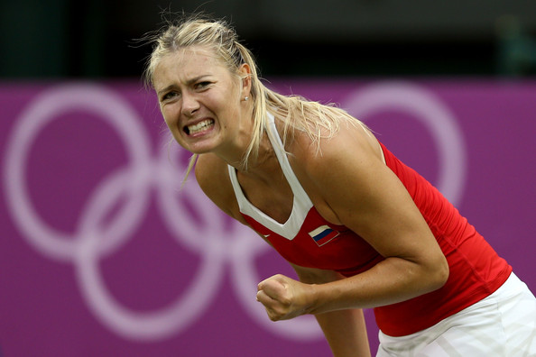 Maria Sharapova at the 2012 London Olympics | Photo: Clive Brunskill/Getty Images Europe