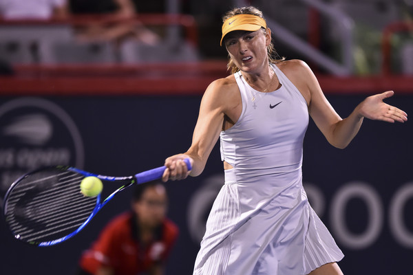 Maria Sharapova came out of the blocks firing on both days, grabbing the early leads | Photo: Minas Panagiotakis/Getty Images North America