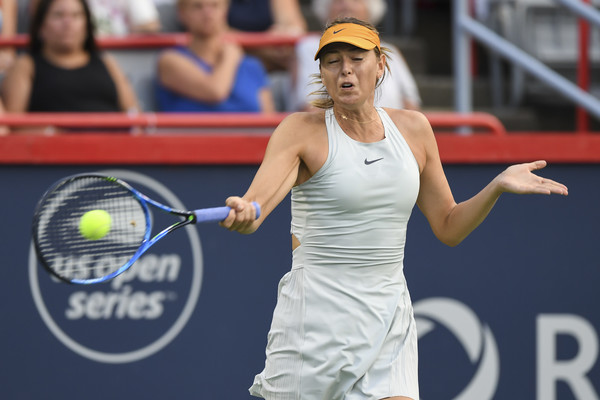 Maria Sharapova in action at the recent Rogers Cup | Photo: Minas Panagiotakis/Getty Images North America