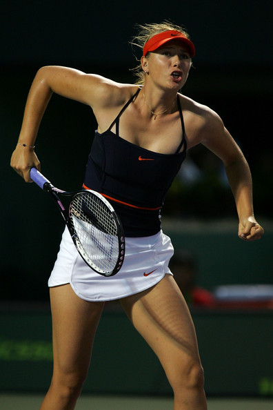 Maria Sharapova at the 2007 Miami Open | Photo: Matthew Stockman/Getty Images Sport