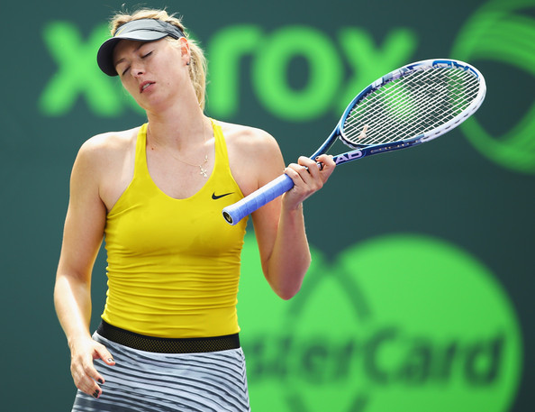Sharapova wasted her chances against Williams | Photo: Al Bello/Getty Images North America