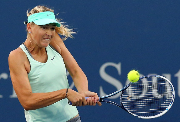 Maria Sharapova in Cincinnati, her last tournament of the year | Photo: Ronald Martinez/Getty Images North America