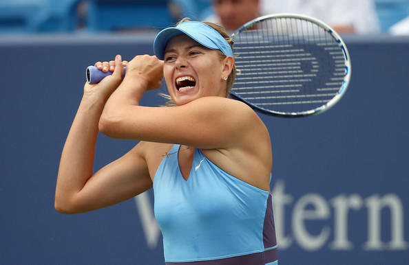 Maria Sharapova in her last appearance at the Western and Southern Open | Photo: Andy Lyons/Getty Images North America
