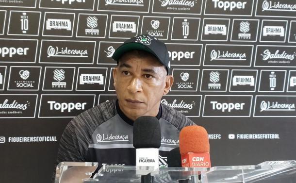 Maria admitiu importância ainda maior para clássico deste domingo (17) (Foto: Divulgação/Figueirense FC)