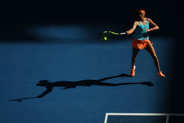 Mariana Duque-Marino at the Australian Open this year | Photo: Mark Kolbe/Getty Images AsiaPac