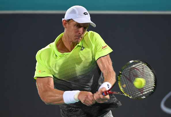 Kevin Anderson will play in India for the very first time in his career (Photo: Tom Dulat/Getty Images)